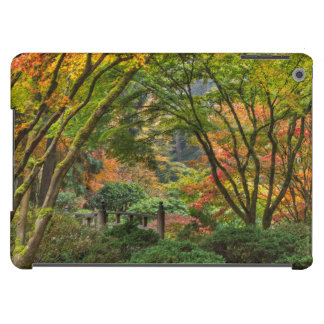 Japanese Gardens In Autumn In Portland, Oregon 4 Cover For iPad Air