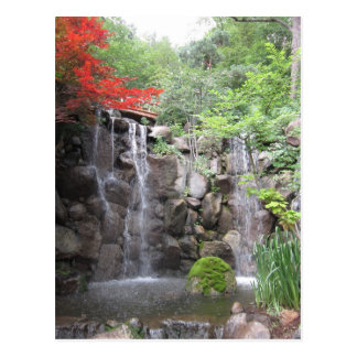 Japanese Gardens, Rockford IL Postcard