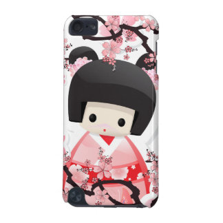 Japanese Geisha Doll - Sakura iPod Case iPod Touch 5G Covers