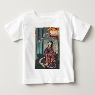 Japanese Geisha Lady Japan Art Cool Classic Baby T-Shirt