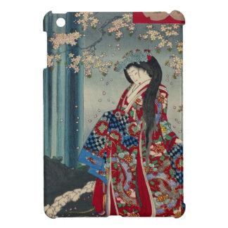 Japanese Geisha Lady Japan Art Cool Classic Cover For The iPad Mini