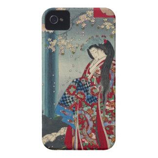 Japanese Geisha Lady Japan Art Cool Classic iPhone 4 Case-Mate Case