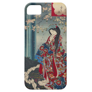 Japanese Geisha Lady Japan Art Cool Classic iPhone 5 Case