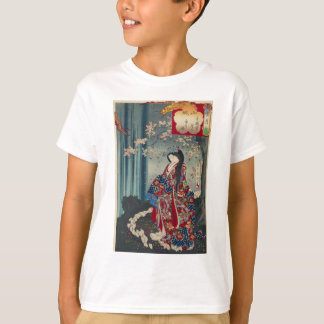 Japanese Geisha Lady Japan Art Cool Classic T-Shirt