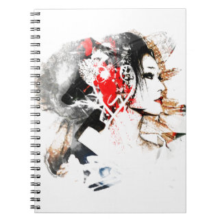 Japanese Geisha Notebooks