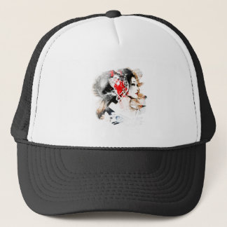Japanese Geisha Trucker Hat