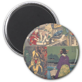 Japanese Ghost Painting Refrigerator Magnet