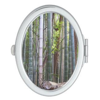 Japanese Giant Bamboo Forest, Sagano, Kyoto, Japan Vanity Mirrors