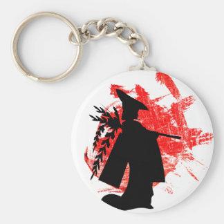 Japanese Girl Key Ring