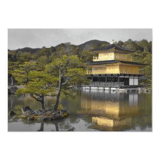 Japanese Golden Pavilion Invitation