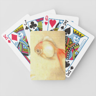 Japanese Goldfish Bicycle Playing Cards