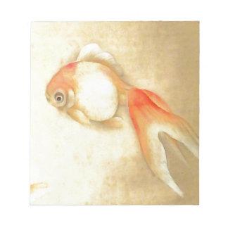 Japanese Goldfish Notepad