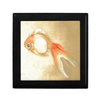Japanese Goldfish Small Square Gift Box
