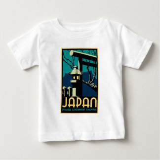 Japanese Government Railways Vintage World Travel Baby T-Shirt
