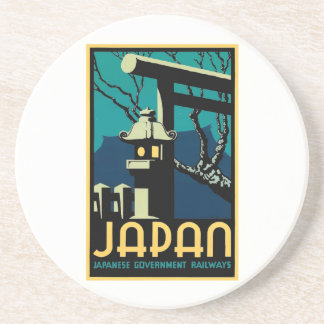 Japanese Government Railways Vintage World Travel Coaster