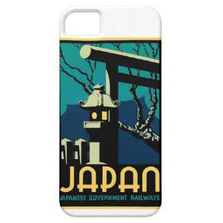 Japanese Government Railways Vintage World Travel iPhone 5 Cover