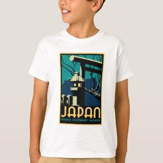 Japanese Government Railways Vintage World Travel T-Shirt
