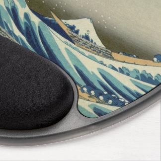 Japanese Great Wave off Kanagawa by Hokusai Gel Mouse Pad