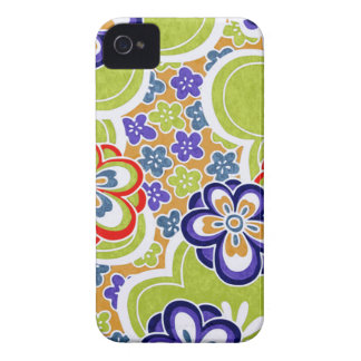 Japanese Green Chiyogami Blackberry Bold iPhone 4 Case-Mate Cases
