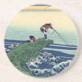 Japanese Hokusai Fuji View Landscape Coaster