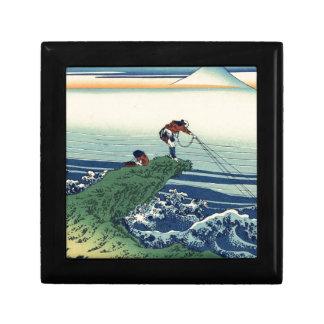 Japanese Hokusai Fuji View Landscape Gift Box