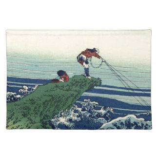 Japanese Hokusai Fuji View Landscape Placemat