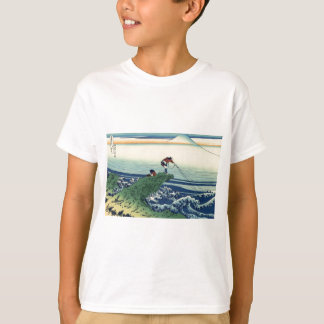 Japanese Hokusai Fuji View Landscape T-Shirt