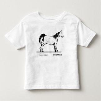 Japanese horse samurai art equestrian sumi tees
