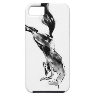 Japanese horse samurai art equestrian sumi tough iPhone 5 case