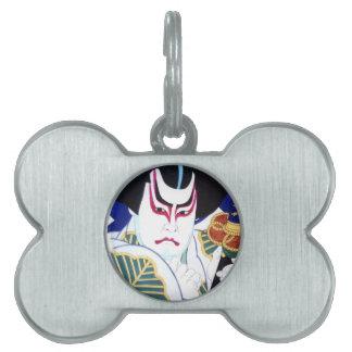 Japanese Kabuki Actor Art by Natori Shunsen 名取春仙 Pet Name Tag