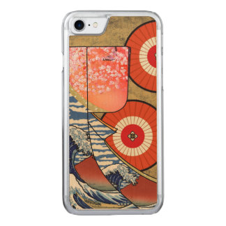 Japanese Kimono Carved iPhone 8/7 Case
