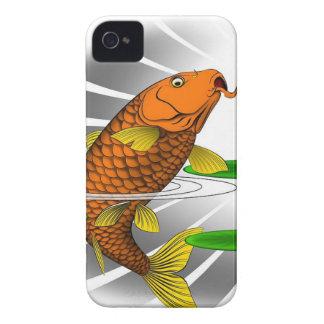 Japanese Koi Fish Pond Design Case-Mate iPhone 4 Case