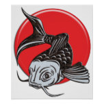 Japanese Koi Logo