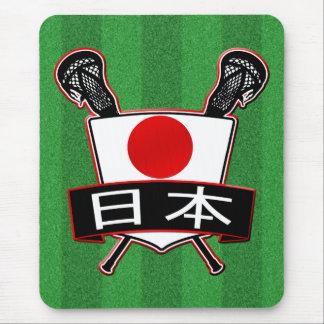 Japanese Lacrosse Logo Mouse Pad