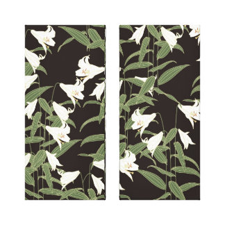 Japanese Lily Canvas Prints