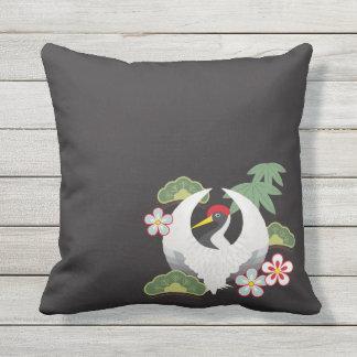 Japanese Lucky Symbols Cool Elegant Outdoor Cushion