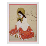 Japanese Madonna and Child Vintage Posters