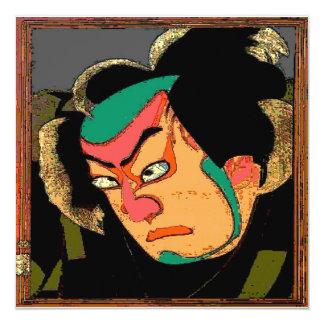 Japanese Man Print Card