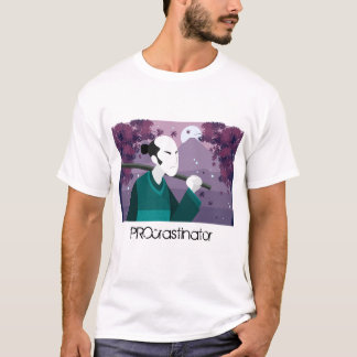 Japanese Man PROcrastinator T-shirt