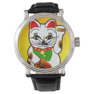 Japanese Maneki Neko Watch