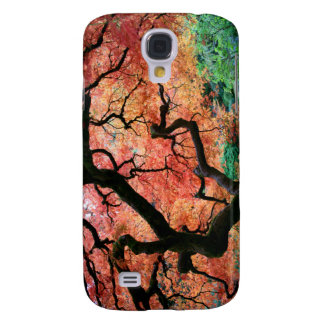 Japanese Maple 1 Galaxy S4 Cases