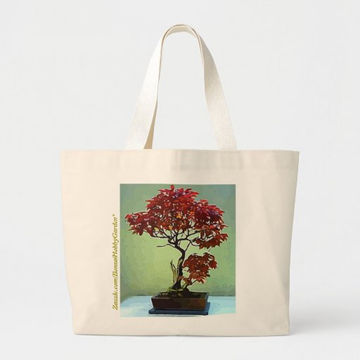 Japanese Maple Canvas Bags