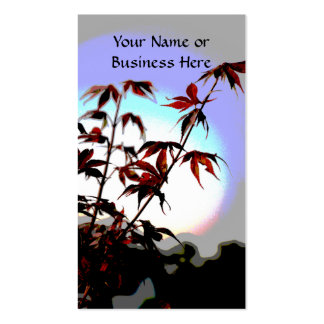 Japanese Maple Business Cards