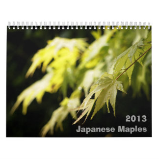 Japanese Maple Calendar