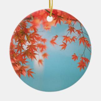 Japanese maple ornaments
