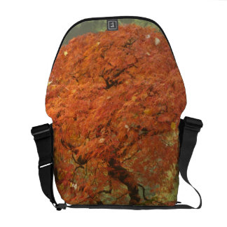 Japanese maple in fall color 3 commuter bag