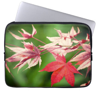 Japanese Maple Leaves Laptop Sleeve