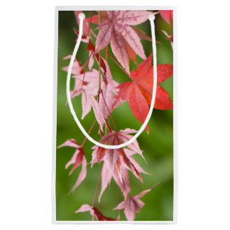 Japanese Maple Leaves Small Gift Bag
