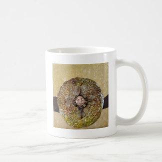 Japanese Maple Mandala - collage Mug