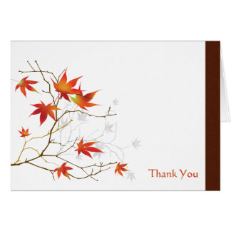 Japanese Maple Note Card